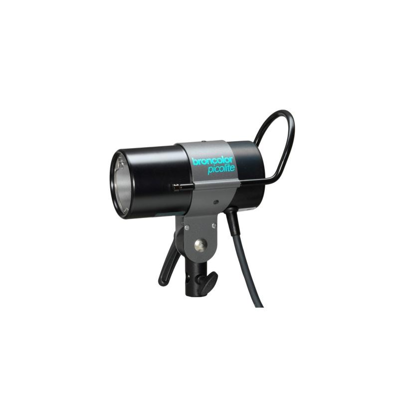 Broncolor Picolite small lamp available to rent / verhuur / location at 50.8 Studio • Belgïe, Belgique, Belgium, Broncolor, Huur, Location, Louer, Photo, Rent, Rental, Strobe, Studio, Verhuur, Video