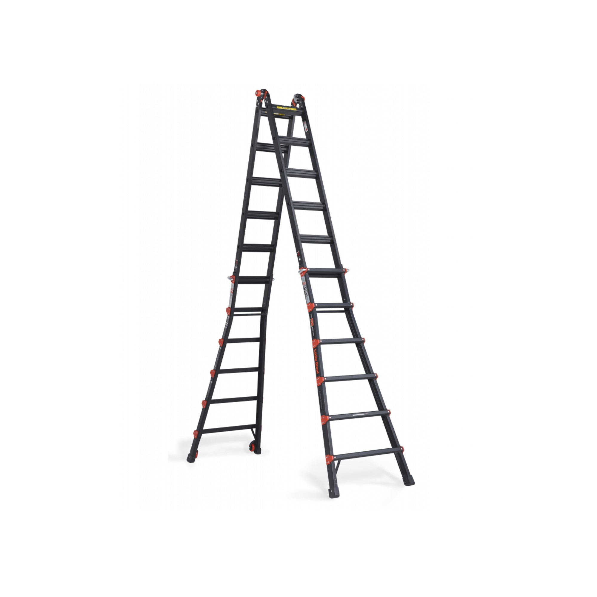 Altrex Black Folding ladder available to rent / verhuur / location at 50.8 Studio • Belgïe, Belgique, Belgium, Grip, Huur, Location, Louer, Manfrotto, Only in, Photo, Rent, Rental, Stand, Studio, Verhuur, Video