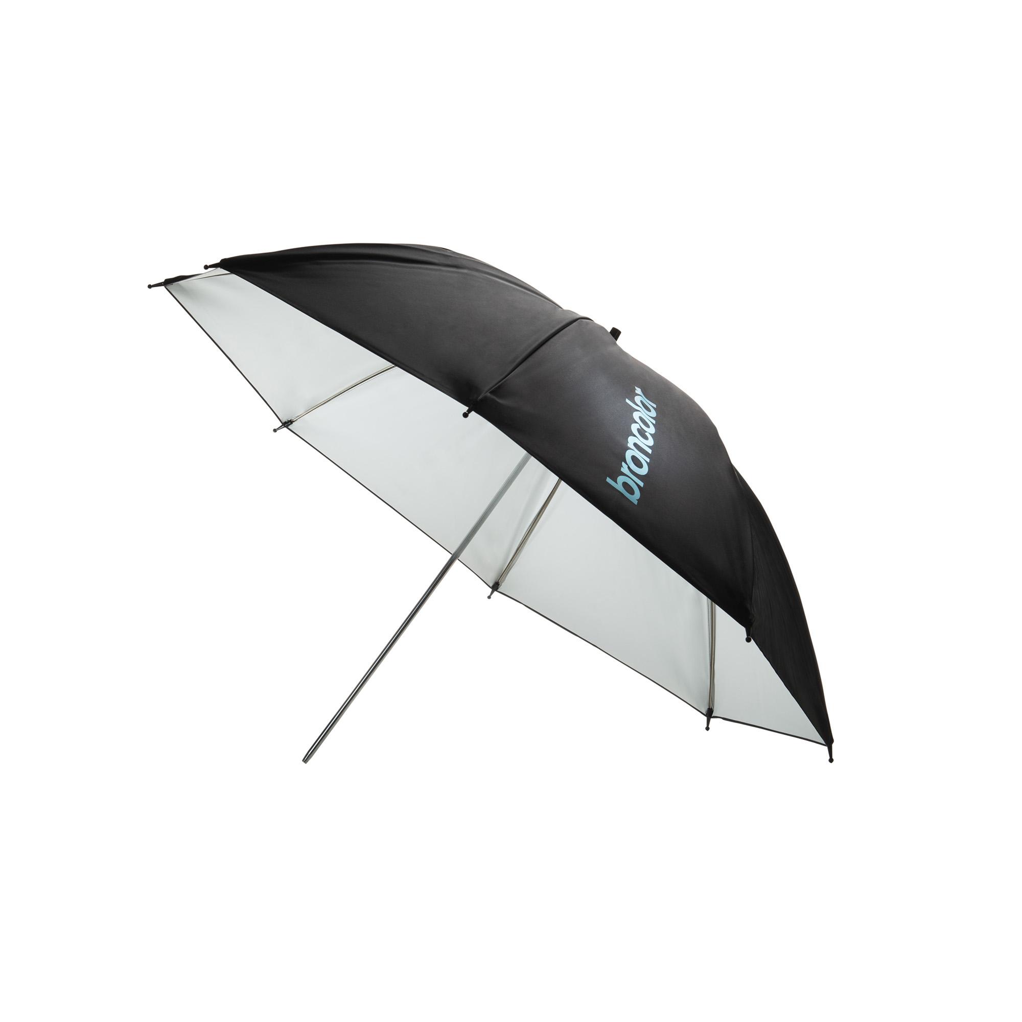 Broncolor Umbrella white 105 cm available to rent / verhuur / location at 50.8 Studio • Belgïe, Belgique, Belgium, Broncolor, Huur, Location, Louer, Photo, Rent, Rental, Softbox, Strobe, Studio, Verhuur, Video